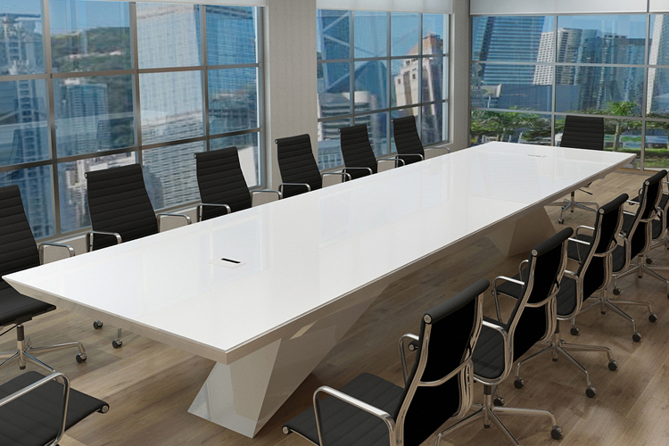 High end meeting table long conference table design