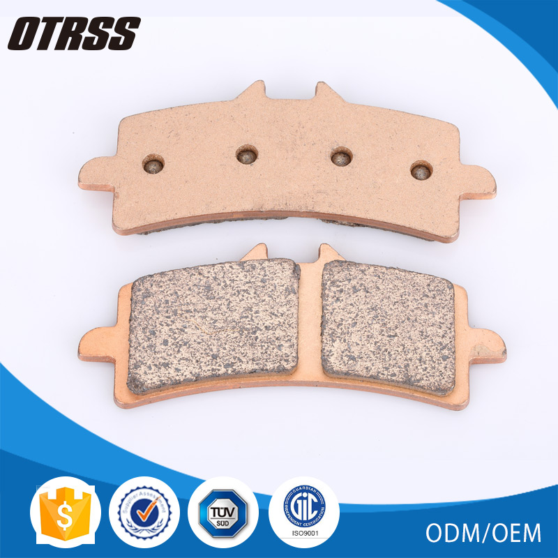 Golden sintered RSV4 copper disc front brake pad for APRILIA