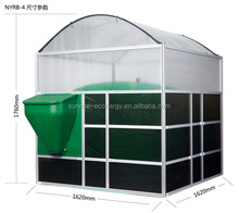 Sunrise Assembly portable small home mini biogas plant digester