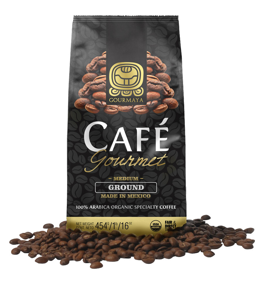 Gourmaya Organic Coffee 100% Arabica From Mexico