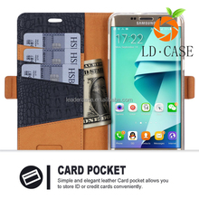 For Samsung galaxy S7 leather wallet phone case protector cover case