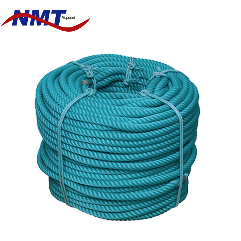 Tensile Strength tiger 3 Strands polyethylene rope