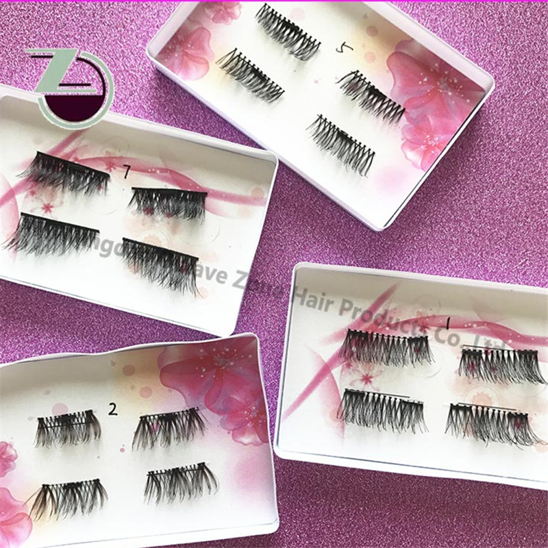 Magnetic Eyelashes Private Label Own Brand Eyelashes Wholesale Silk Individual Eyelashes