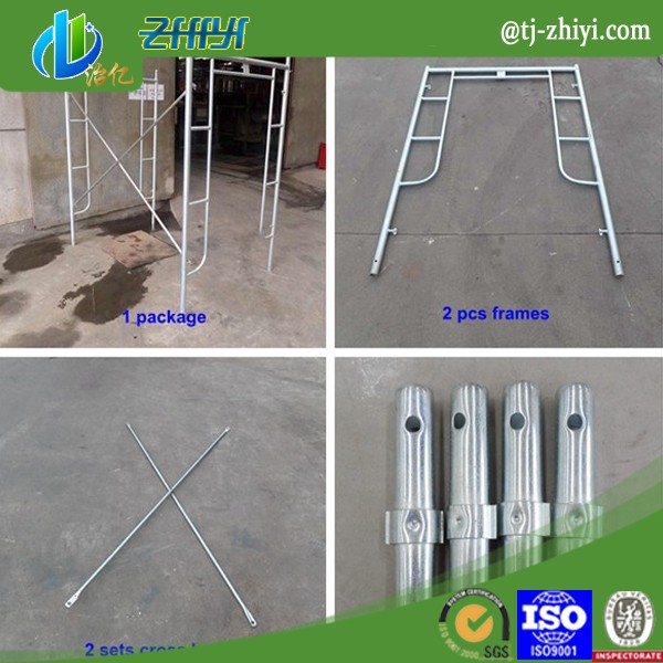 1219*1700 mm h frame scaffolding parts