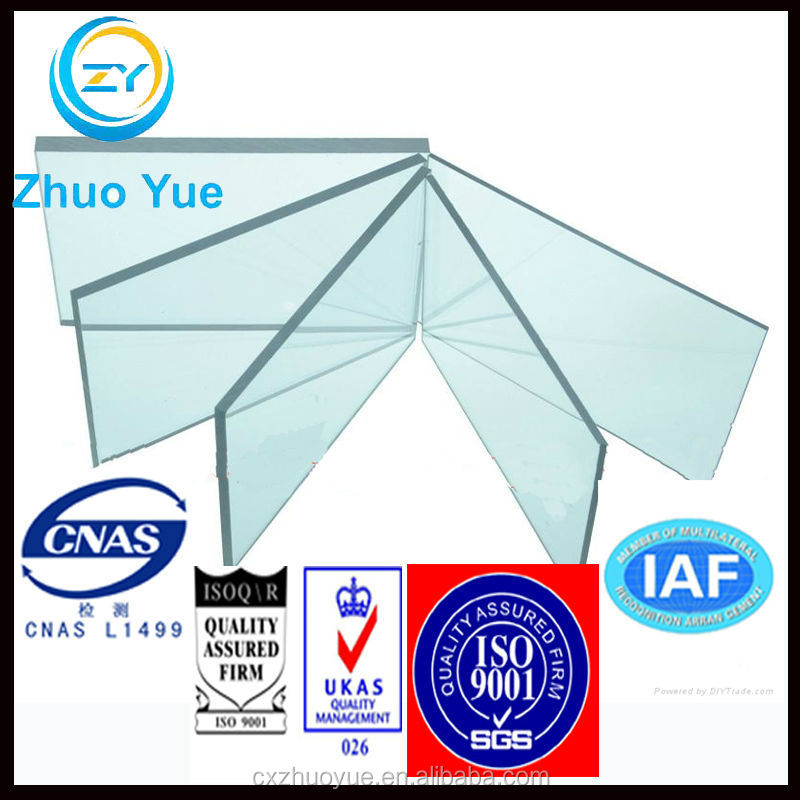 low price bayer material sound absorption wall polycarbonate solid sheet
