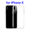 Phone Accessories 0.5MM Ultra Thin TPU Case for iPhone X Case Cover