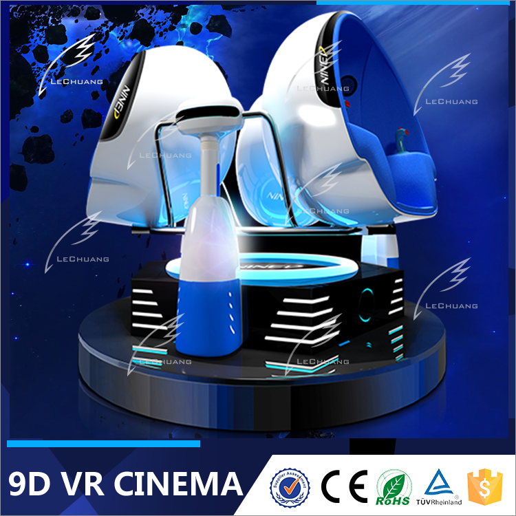 Stand Up Interactive New 9DVR 360 Rotating 9D VR Cinema