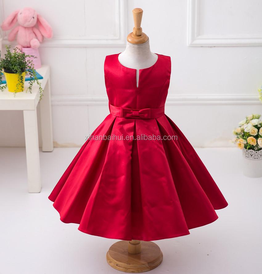 8260b1cea8 Vestidos de Festa baratos para adolescentes red kid frock para 3 anos de  idade da menina
