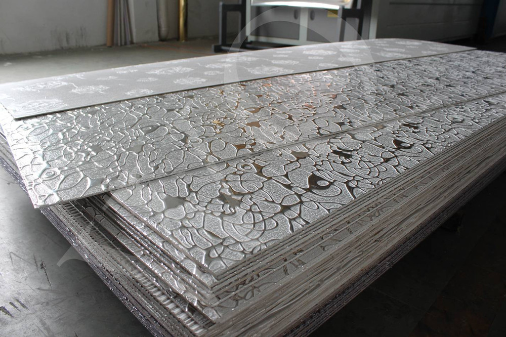 3d Embossed And Texture Mdf Wall Panels For Hotel And
