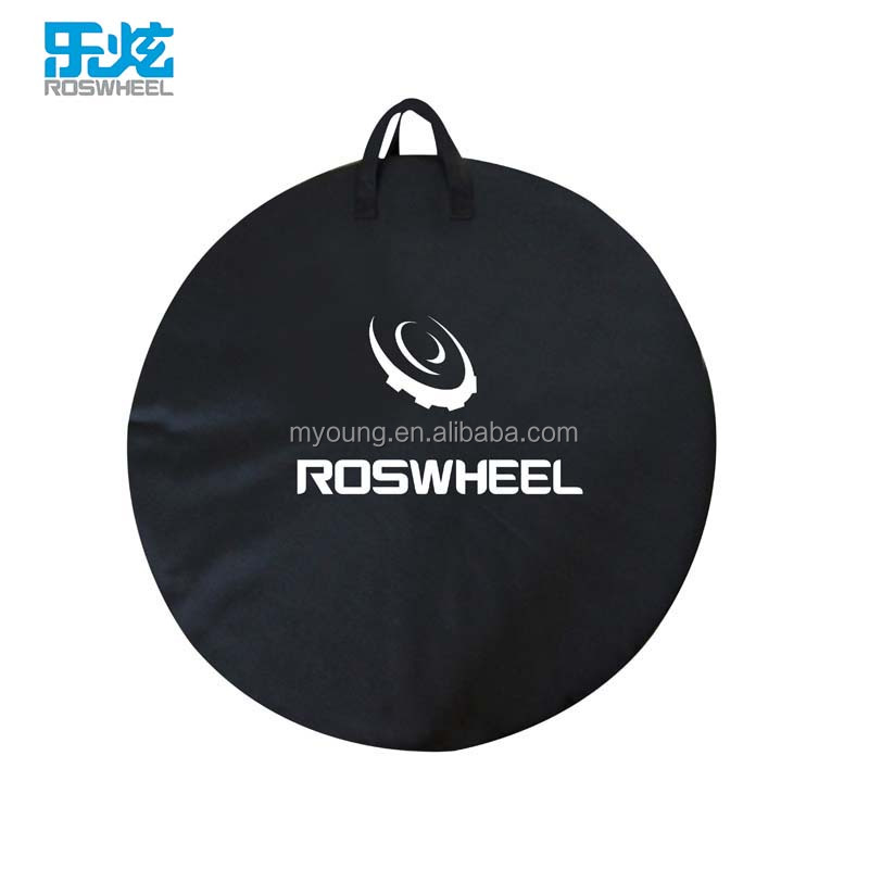 Roswheel High Quality and OEM Accepted 420D Polyester Bicycle Wheel Bag