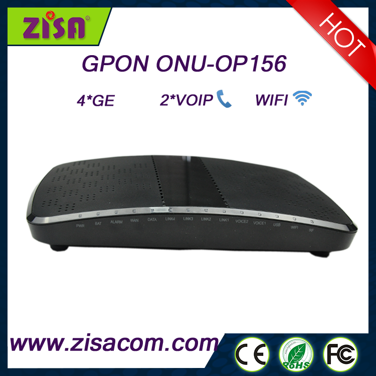 2016 Zisa Competitive Price Op-156 Ftth Gpon Mdu Ont Modem