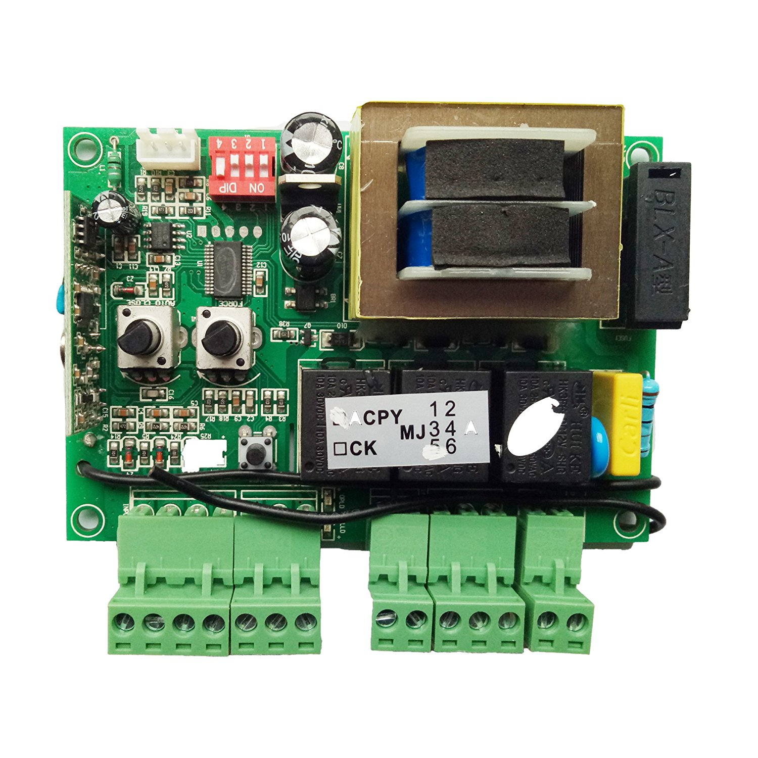 get quotations � topens pcb print circuit control board for ck700 sliding gate  opener