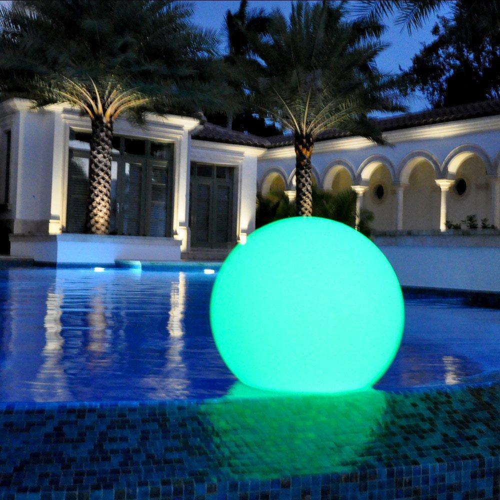 Floating Led Illuminated Swimming Pool Led Ball Lights