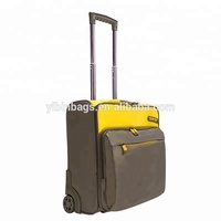 Ready Stock 16 inch Rolling Luggage Trolley Travel Suitcase Rolling Laptop Case