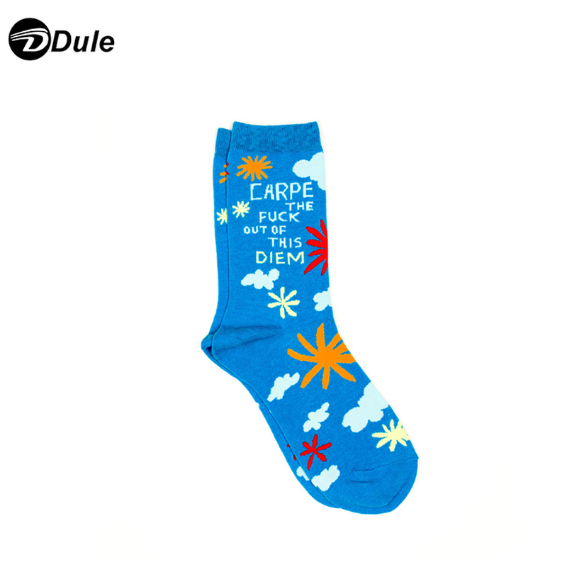 DL-I-0388 womens blue socks