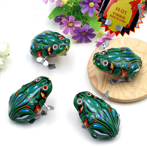 2018 Yiwu Factory Supplier Kid's Educational Toys Green Jumping Frog Toy For Kids Gift