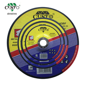 "5"" abrasive steel metal bond cutting and grinding disc"