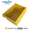 Economic plastic crate for bottles, plastic wine bottle crate, widely use plastic crate
