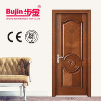 Modern Unique Chinese Interior Cheap Solid Wood Door
