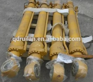 Sany excavator single acting or double acting telescopic hydraulic cylinder for sale