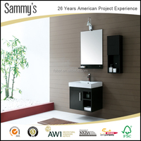 Sammy's factory direct offer hotel vanity kit wall mounted bathroom vanity combo