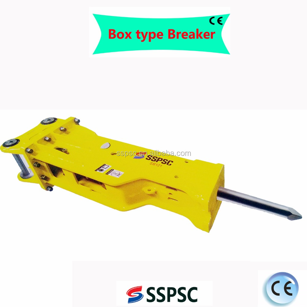 Hydraulic rock breaker chisel for excavaor in Yantai