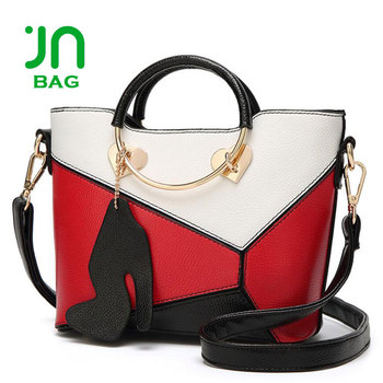 Jianuo Las Handbag Manufacturers High Heels Shoe Decoration Handbags For Lady
