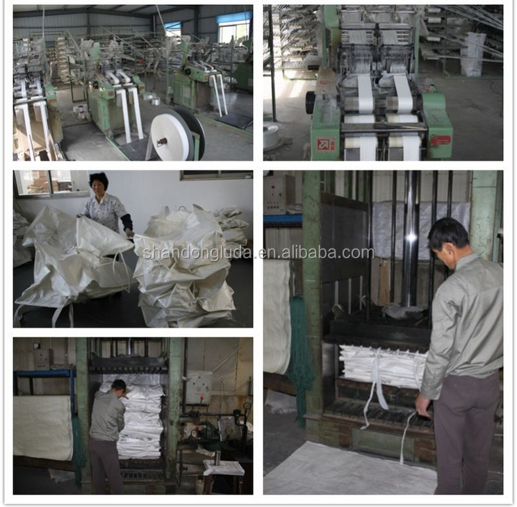 100% raw material PP jumbo bag pp big bag China Strong 1 Ton Tote FIBC Bulk Bags