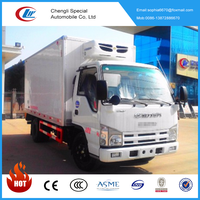 price of Japan famous brand 600P refrigerated truck for sale
