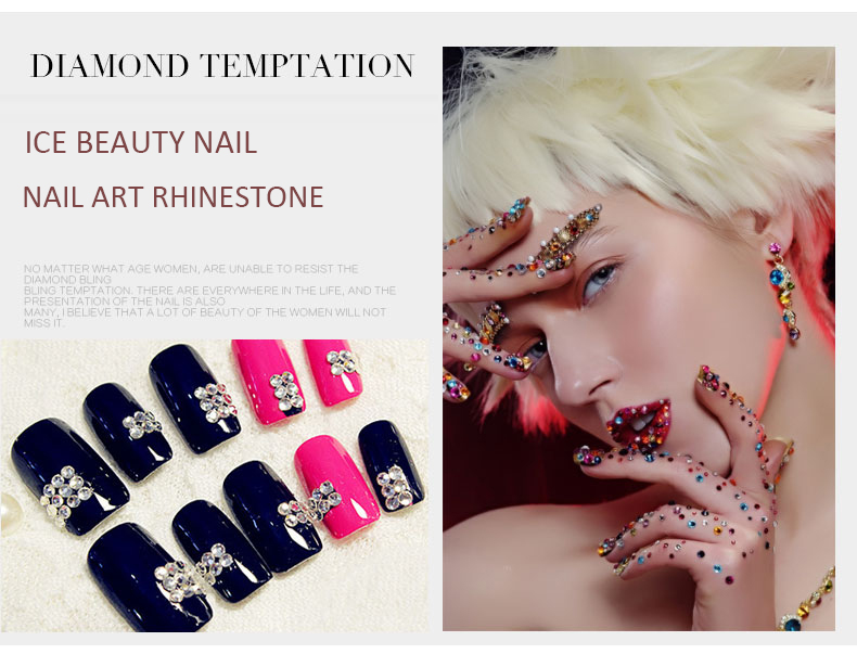 nail rhinestone sticker wholesale stamping nails art product