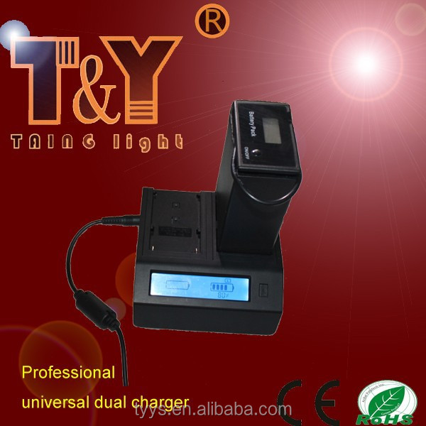 High quality universal camcorder battery charger for NP-F570/F750/F950/F970