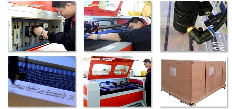 fabric leather 6090 jeans label laser cutting machine with ccd camera