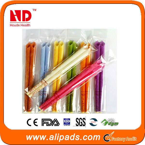 Ready sale!high quality beeswax ear candle wholesale for health and beauty