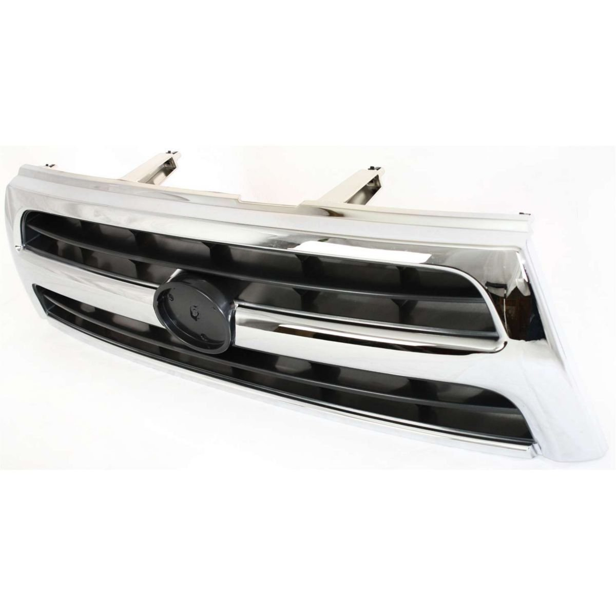 Diften 102-A5013-X01 - New Grille Assembly Grill Chrome shell silver black insert TO1200228 5311135460