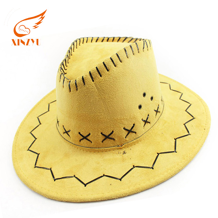 9b5f805f China Yellow Cowboy Hat, China Yellow Cowboy Hat Manufacturers and  Suppliers on Alibaba.com