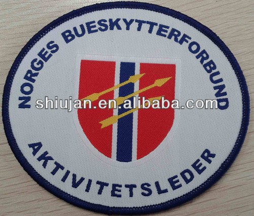 uniform police epaulettes woven patch