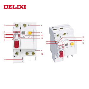DELIXI Wholesale Free Sample Generator Prices 10amp circuit breaker