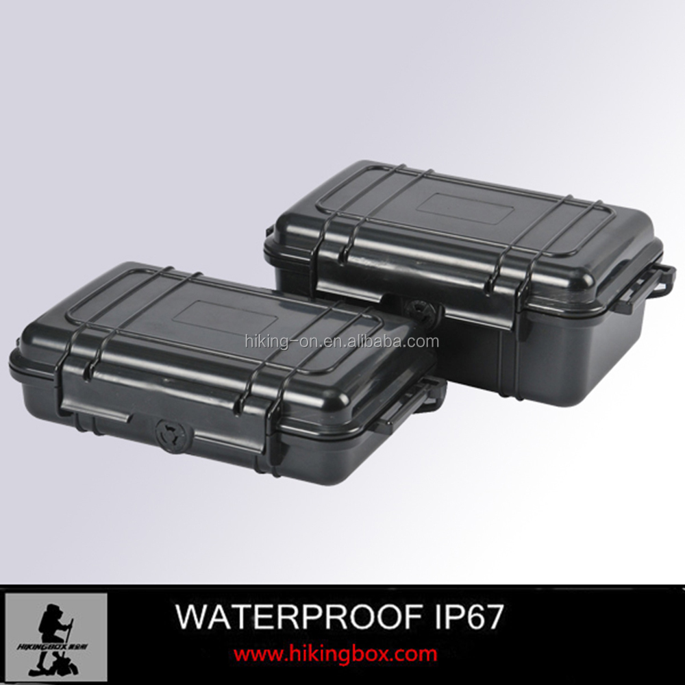 New Product!! IP67 Small plastic Handled Case /Plastic Carrying Case with Rubber Cushion HTC002