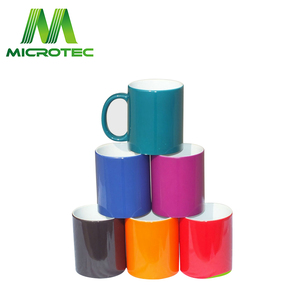 sublimation ceramic color change mug,magic mug for sublimation wholesale