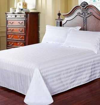 Luxury 100%cotton/polyester Bed Sheets/bedding Set For Hotel/hospital/
