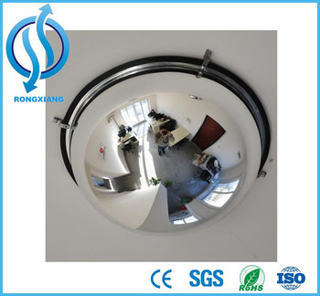 360 degree indoor safety small dome convex mirror buy for Mirror 60cm wide
