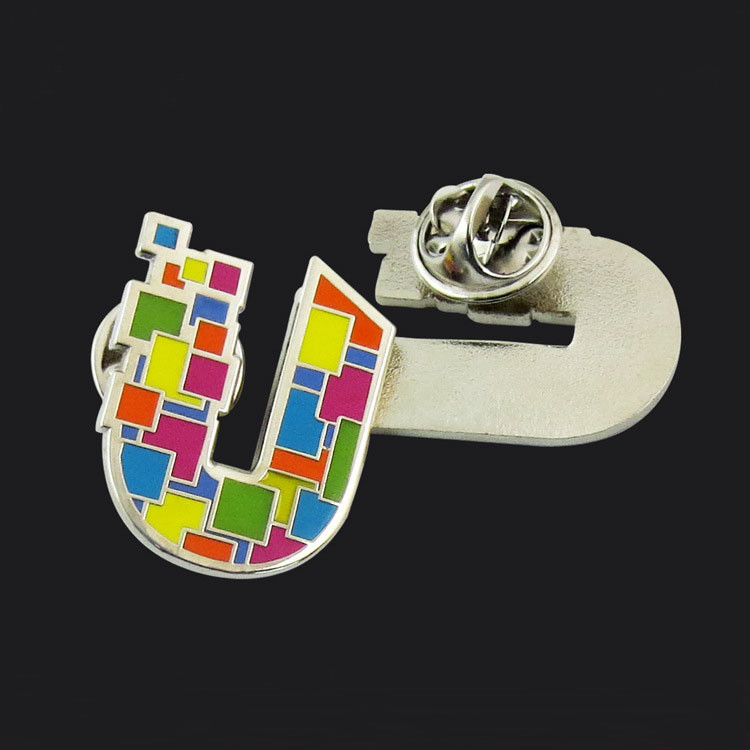 High - grade color metal handicraft badge badges for electroplating enamel