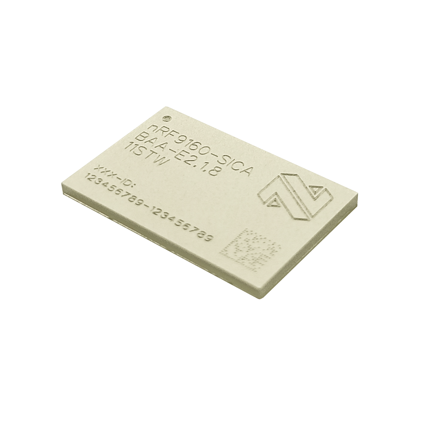 Low power cellular IoT module nRF9160 with integrated LTE-M/NB-IoT modem and GPS
