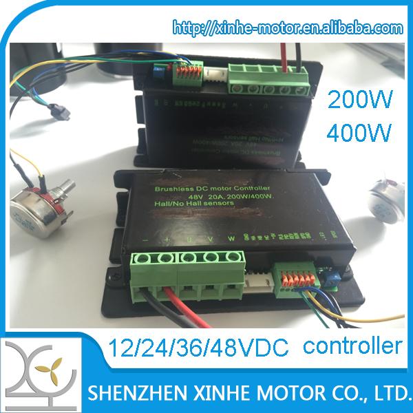 400w 20a 36v 24v 12v Bldc Motor Controller And Driver - Buy 12v Bldc Motor  Controller,Dc Motor Controller,Brushless Dc Motor Integrated Controller