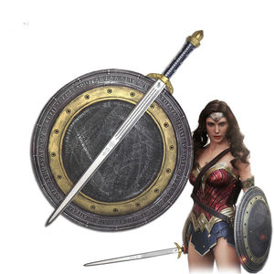 wonder woman pu foam cosplay sword and shield set