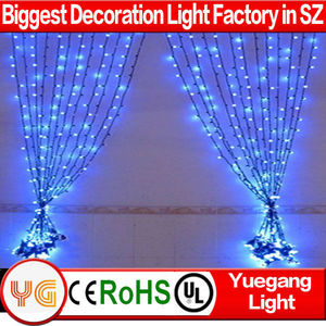 Wedding decoration 3*1m 160 led curtain light twinkle light curtain wedding fairy light curtain with CE ROHS certification 220V