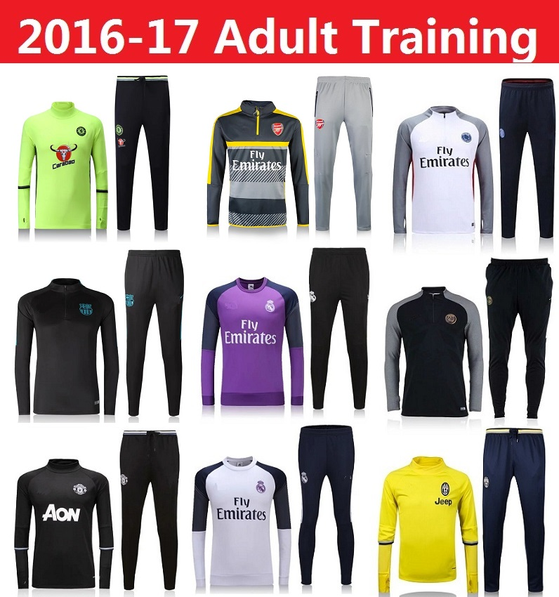 44057a1e441 Maillot De Foot font b Training b font Suit Tracksuit font b PSG b font