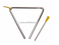 Metal percussion instrument triangle musical instrument