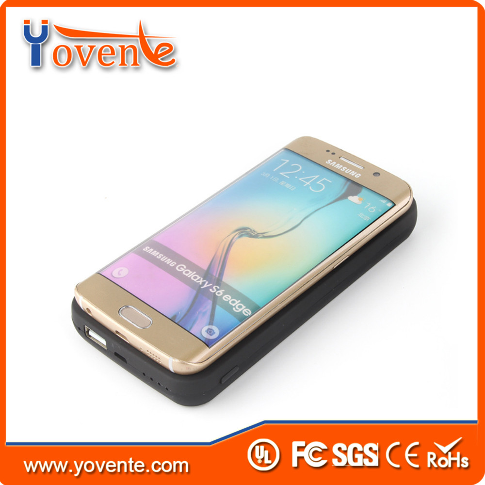 Yovente 6000mah Wireless charger power bank stand For Samsung Galaxy S6