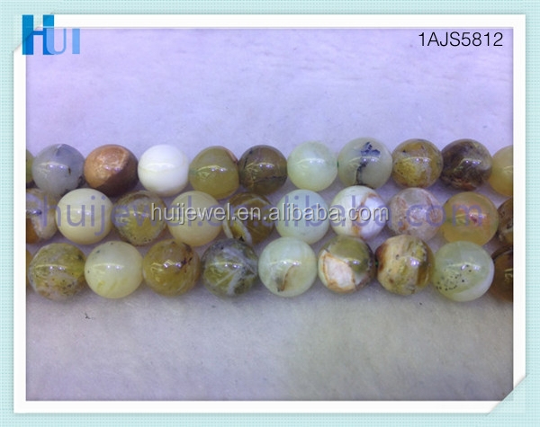 high quality green opal bead diy opal bead strand jewelry bead 4mm ~12mm